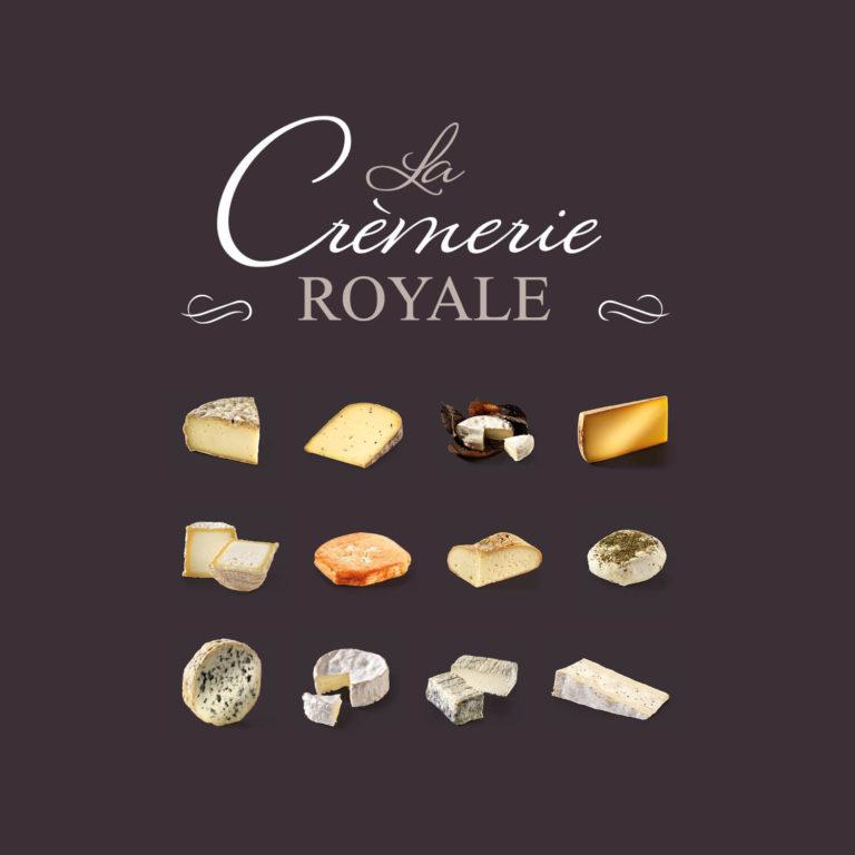 La Crèmerie Royale, site de vente de fromages gastonomiques en ligne