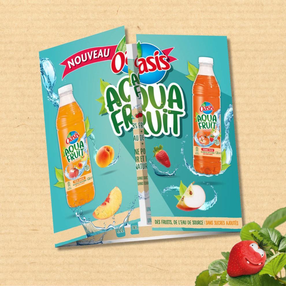 Argumentaire Oasis Aquafruit, Orangina Schweppes