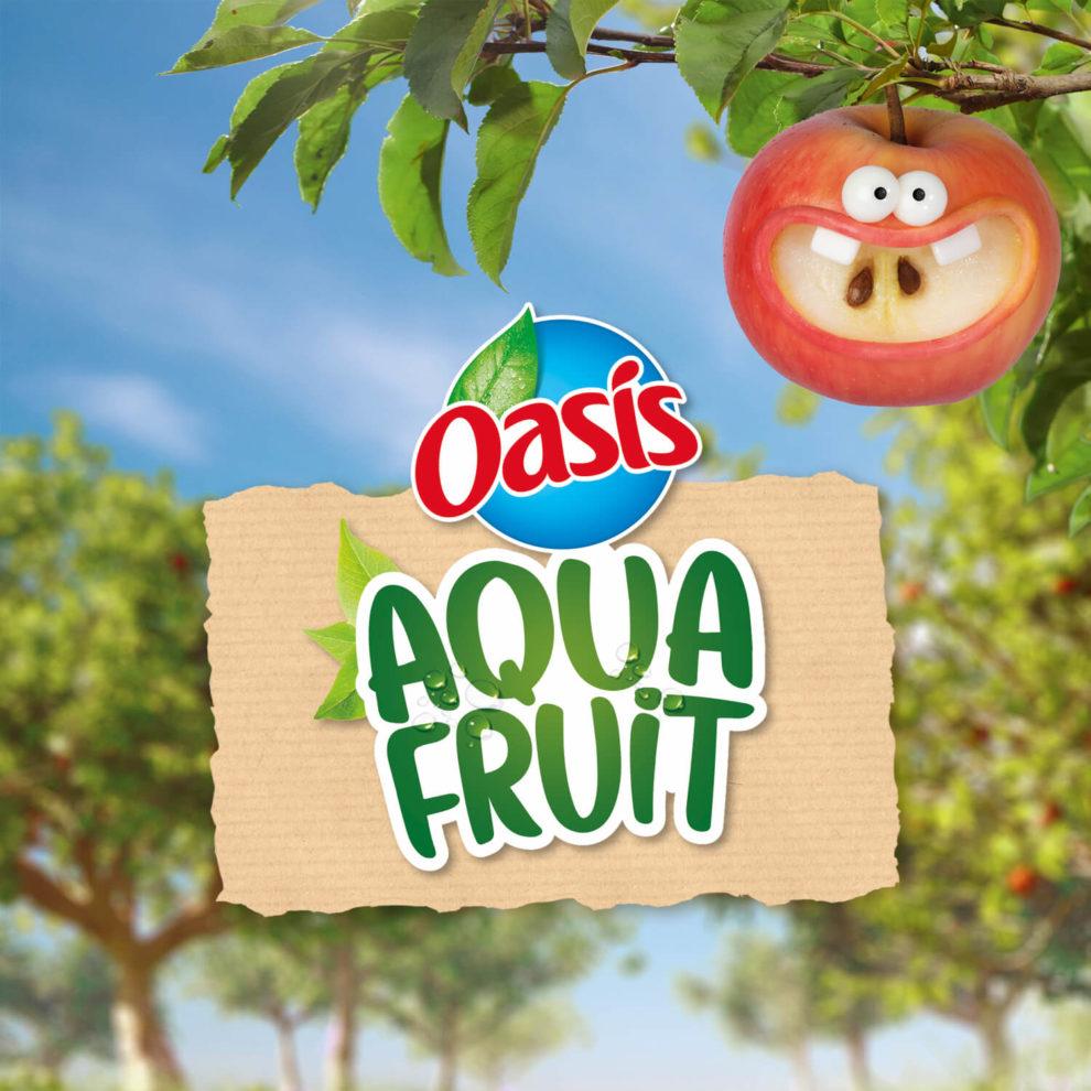 Logo Oasis Aquafruit, Orangina Schweppes