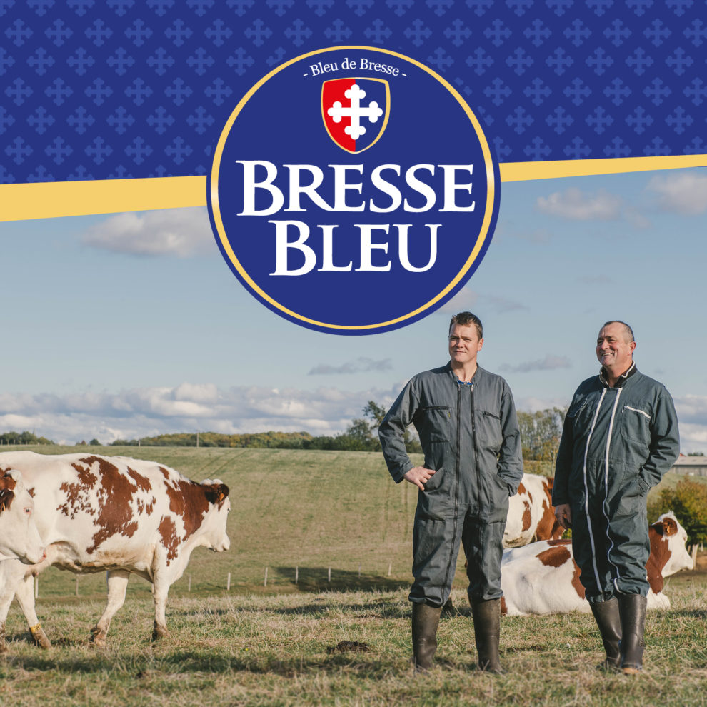 Logo Bresse Bleu Producteurs Engagés