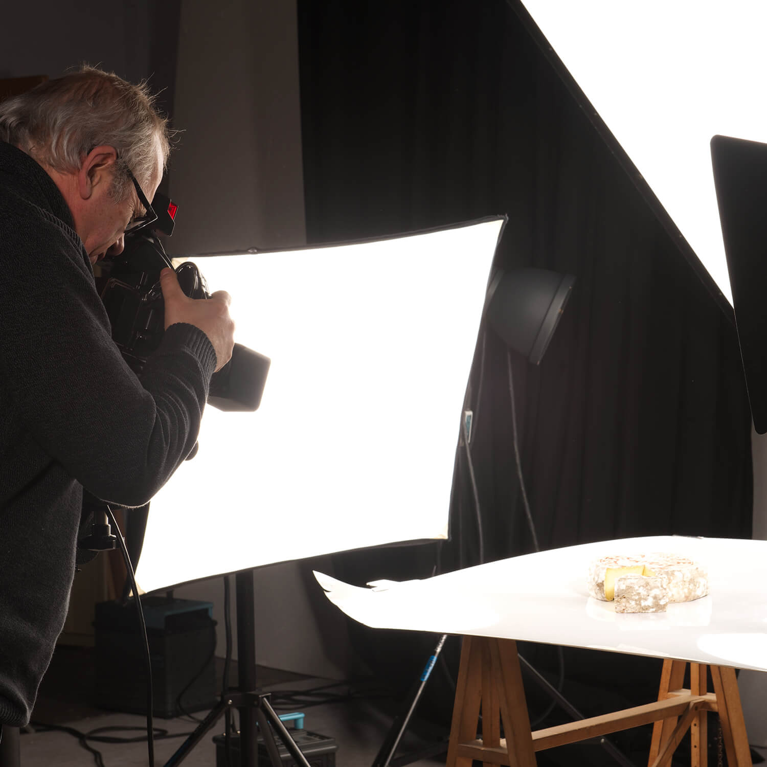 Shooting photo de fromages