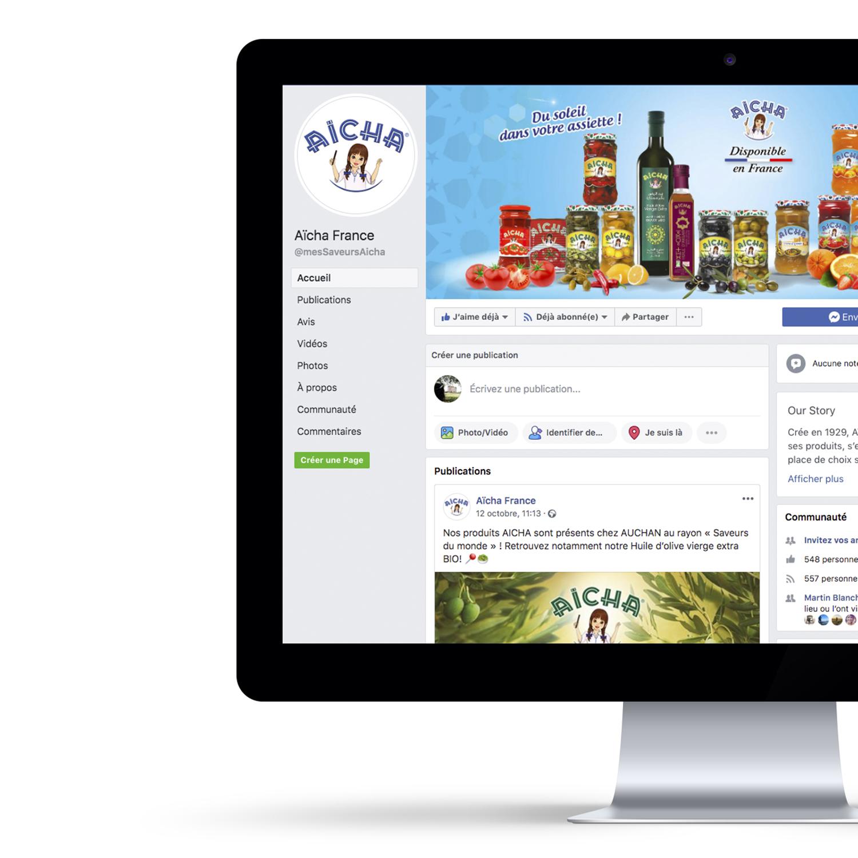 Visuels cover Facebook Aïcha France