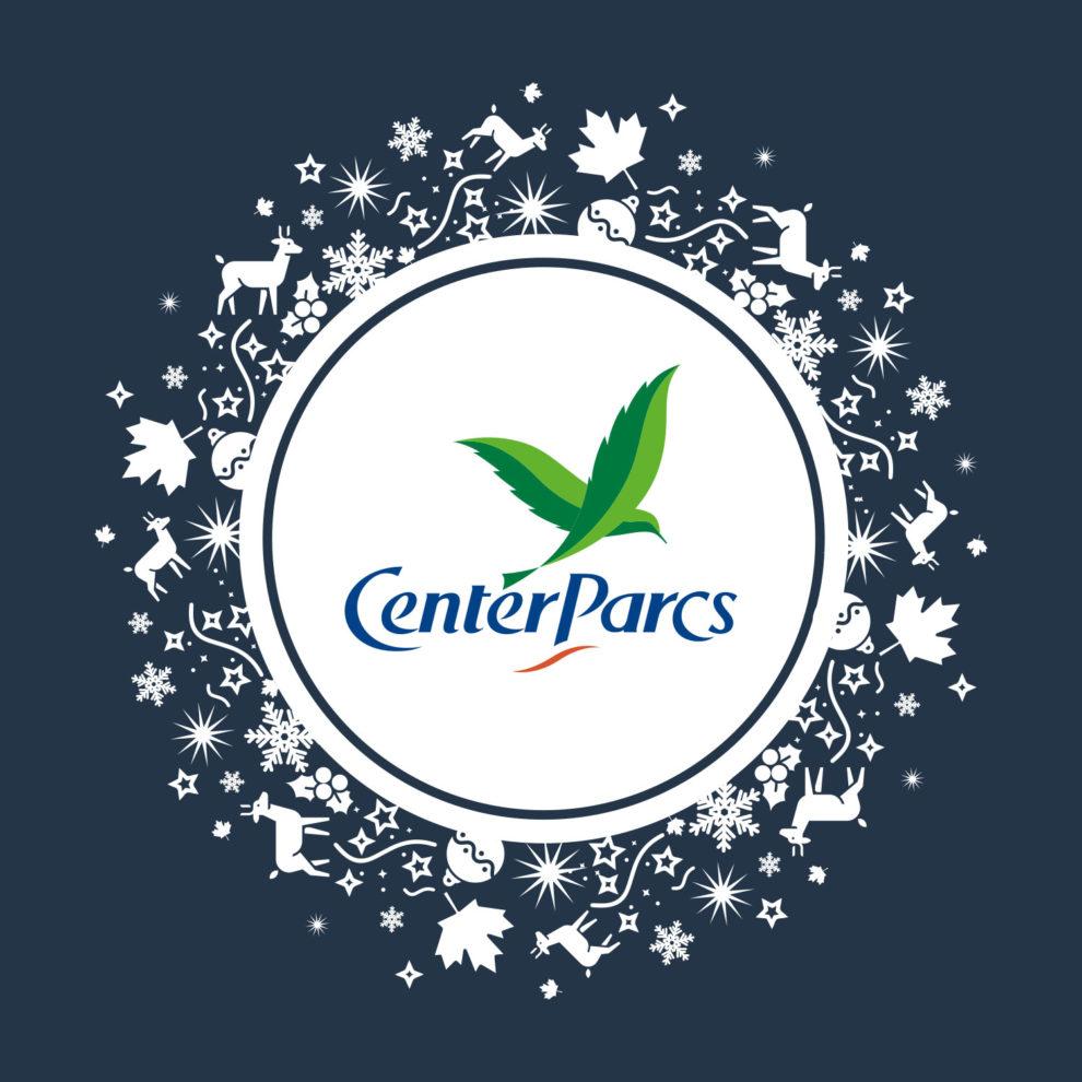 logo fêtes de fin d'année Center Parcs