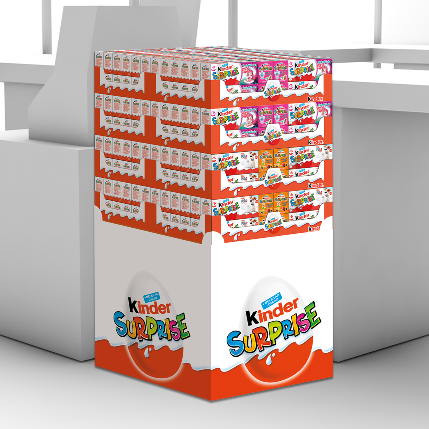 Display Kinder Surprise T3 FBE