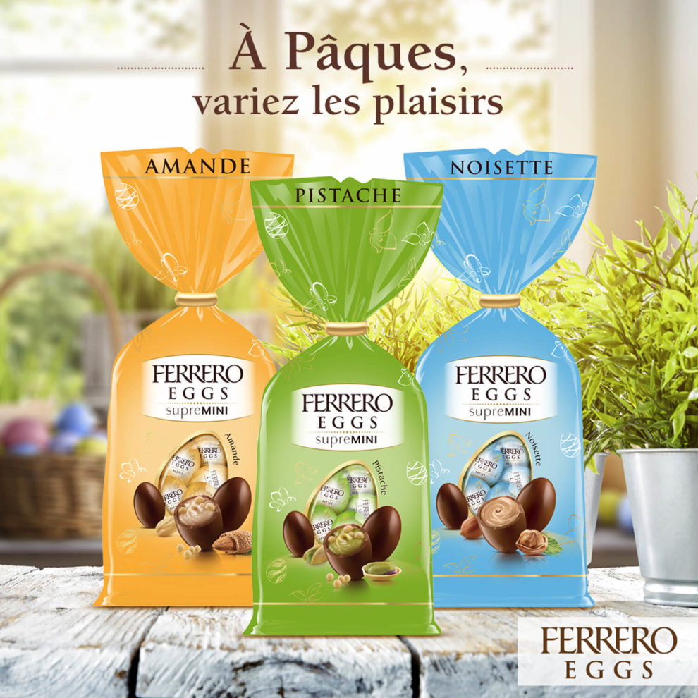 post facebook ferrero eggs supremini